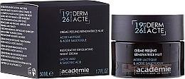 Parfémy, Parfumerie, kosmetika Noční obnovující exfoliační krém - Academie Peeling Renovatrice Nuit Acide Lactique & Acide Salicylique
