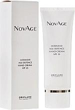 Parfémy, Parfumerie, kosmetika Intenzivní krém na ruce proti stárnutí - Oriflame NovAge Intensive Age Defence Hand Cream SPF25