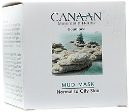 Parfémy, Parfumerie, kosmetika Jílová maska pro normální a mastnou pleť - Canaan Minerals & Herbs Mud Mask Normal to Oily Skin