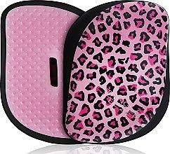 Parfémy, Parfumerie, kosmetika Kartáč na vlasy - Tangle Teezer Compact Styler Pink Kitty Mobile Brush