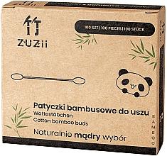 Parfémy, Parfumerie, kosmetika Bambusové bavlněné tyčinky - Zuzii Bamboo Cotton Buds