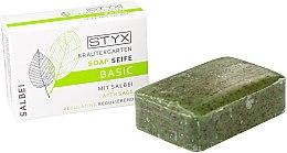 Parfémy, Parfumerie, kosmetika Mýdlo Šalvěj - Styx Naturcosmetic Basic Soap With Sage