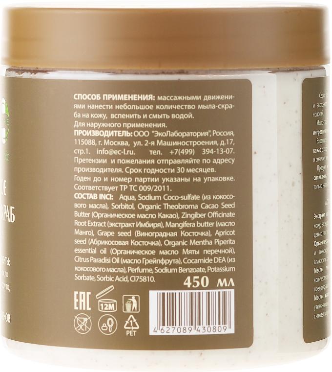 """Mýdlo-scrub na tělo """"Zázvorové"""" - ECO Laboratorie Natural & Organic Ginger Body Scrub — foto N2"""