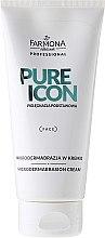 Parfémy, Parfumerie, kosmetika Mikrodermální peeling - Farmona Professional Pure Icon Microdermabrasion Cream