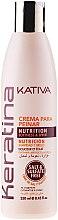 Parfémy, Parfumerie, kosmetika Keratinový zpevňující krém pro styling na všechny typy vlasů - Kativa Keratina Styling Cream