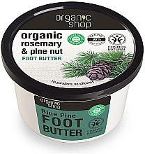 "Parfémy, Parfumerie, kosmetika Olej na nohy ""Modrý cedr"" - Organic shop Foot Butter Organic Cedar and Rose"