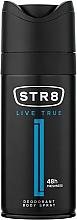 Parfémy, Parfumerie, kosmetika STR8 Live True - Deodorant ve spreji