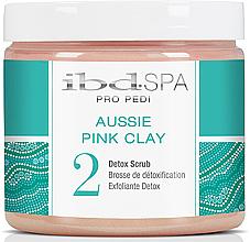 Parfémy, Parfumerie, kosmetika Peeling na ruce a nohy s růžovou hlínou - IBD Aussie Pink Clay Detox Scrub