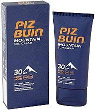 Parfémy, Parfumerie, kosmetika Ochranný krém na obličej - Piz Buin Mountain Sun Cream SPF30