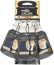 Parfémy, Parfumerie, kosmetika Sada vůní do auta - Yankee Candle Car Jar Midsummers Night