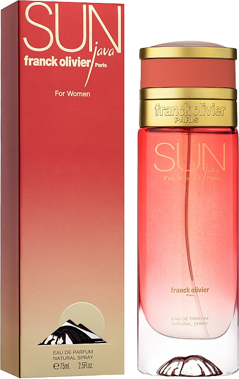 Franck Olivier Sun Java for Women - Parfémovaná voda — foto N2