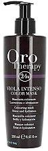 Parfémy, Parfumerie, kosmetika Intenzivní tónovací maska na vlasy - Fanola Oro Therapy Viola Intenso Color Mask