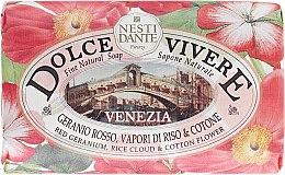 "Parfémy, Parfumerie, kosmetika Mýdlo ""Venice"" - Nesti Dante Dolce Vivere Soap"