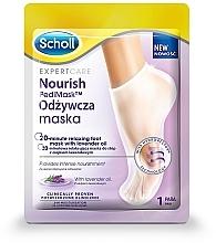 Parfémy, Parfumerie, kosmetika Maska na nohy s levandulovým olejem - Scholl Expert Care Foot Mask