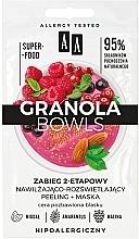 Parfémy, Parfumerie, kosmetika Peelingová pleťová maska - AA Granola Bowls