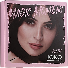 Parfémy, Parfumerie, kosmetika Sada - Joko Makeup Magic Moment (eye/shadow/7g + n/polish/10ml + mascara/9ml)