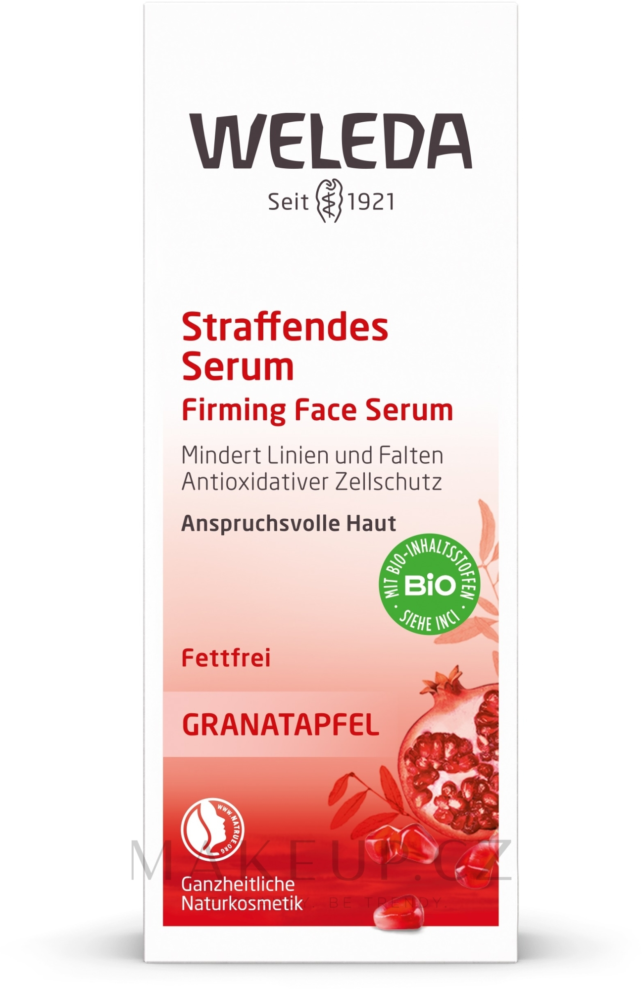 Intenzivní lifting sérum z granátového jablka - Weleda Pomegranate Firming Face Serum — foto 30 ml