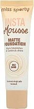 Parfémy, Parfumerie, kosmetika Matující make-up - Miss Sporty Insta Mousse Matte Foundation