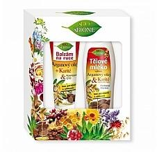 Parfémy, Parfumerie, kosmetika Sada - Bione Cosmetics Argan Oil (h/balm/200ml + b/lot/500ml)