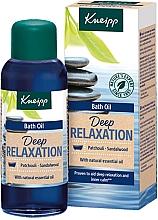 Parfémy, Parfumerie, kosmetika Olej do koupele Pačuli a santalové dřevo - Kneipp Deep Relaxation Patchouli & Sandalwood