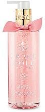 Parfémy, Parfumerie, kosmetika Tekuté mýdlo na ruce Pivoňka a Růžová orchidej - Grace Cole Peony & Pink Orchid Liquid Hand Soap