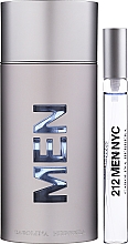 Parfémy, Parfumerie, kosmetika Carolina Herrera 212 For Men - Sada (edt/100ml + edt/10ml)