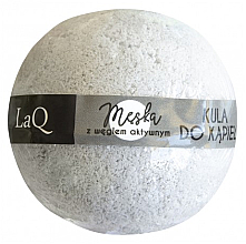 Parfémy, Parfumerie, kosmetika Koupelová bomba pro muže s aktivním uhlím - LaQ Bath Bomb