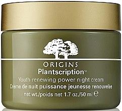 Parfémy, Parfumerie, kosmetika Anti-age noční pleťový krém - Origins Plantscription Youth Renewing Power Night Cream