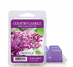 Parfémy, Parfumerie, kosmetika Vosk do aromalampy - Country Candle Fresh Lilac Wax Melts