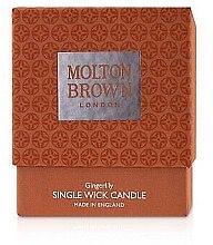 Parfémy, Parfumerie, kosmetika Molton Brown Gingerlily Single Wick Candle - Svíčka s 1 knotem