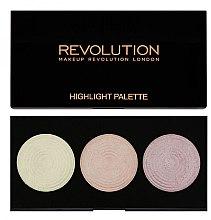 Parfémy, Parfumerie, kosmetika Paleta rozjasňovačů na obličej - Makeup Revolution Highlight Palette