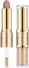 Parfémy, Parfumerie, kosmetika Konturovací rozjasňovač na obličej - Milani Contour & Highlight Cream & Liquid Duo