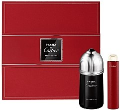 Parfémy, Parfumerie, kosmetika Cartier Pasha de Cartier Edition Noire - Sada (edt/100ml + edt/15ml)