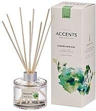 """Parfémy, Parfumerie, kosmetika Aroma difuzér """"Rajčatové listy, byliny a měkký mech"""" - Bolsius Fragrance Diffuser Garden Dreams"""