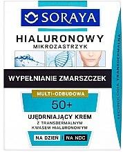 Parfémy, Parfumerie, kosmetika Zpevňující denní a noční krém - Soraya Hialuronowy Mikrozastrzyk Firming Cream 50+