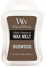 Parfémy, Parfumerie, kosmetika Aromatický vosk - WoodWick Wax Melt Oudwood