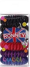Parfémy, Parfumerie, kosmetika Gumičky na vlasy - Ronney Professional Funny Ring Bubble 12