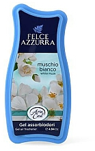 Parfémy, Parfumerie, kosmetika Osvěžovač - Felce Azzurra Gel Air Freshener White Musk