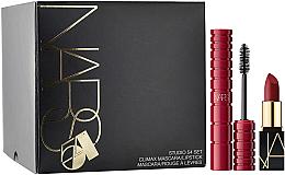 Parfémy, Parfumerie, kosmetika Sada - Nars Studio 54 Set (mascara/6ml + lipstick/1.6g)