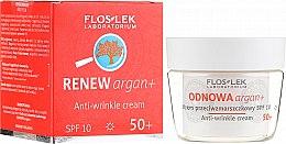 Parfémy, Parfumerie, kosmetika Denní pleťový krém proti vráskám SPF 10 - Floslek Odnowa Argan+ 50+