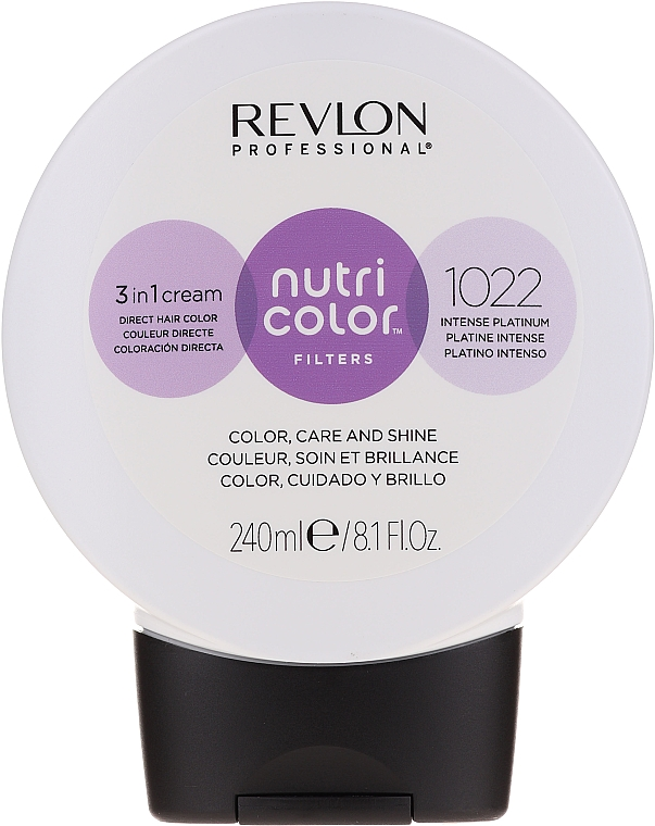 Tónuvací krém-balzám na vlasy, 240 ml - Revlon Professional Nutri Color Filters