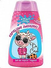 "Parfémy, Parfumerie, kosmetika Dětský sprchový gel ""Koupací zvířata"", sladký pomeranč - Chlapu Chlap Bath & Shower Gel"