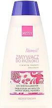 """Parfémy, Parfumerie, kosmetika Tekutina pro odstranění laku """"Lanolin a ovocné kyseliny"""" - Pharma CF Missy"""