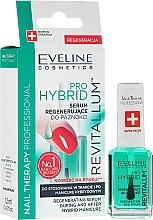 Parfémy, Parfumerie, kosmetika Hybridní nehtové sérum - Eveline Cosmetics Nail Therapy Professional Revitalum Pro Hybrid