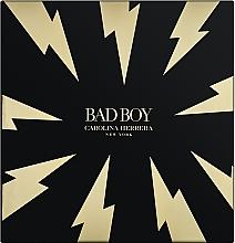 Parfémy, Parfumerie, kosmetika Carolina Herrera Bad Boy - Sada (edt/100ml + sh/gel/100ml)