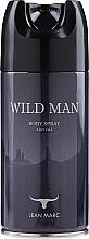 Parfémy, Parfumerie, kosmetika Jean Marc Wild Man - Deodorant