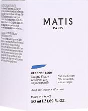 Parfémy, Parfumerie, kosmetika Deodorant - Matis Reponse Body Deodorant