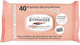 Parfémy, Parfumerie, kosmetika Odličovací ubrousky - Byphasse Make-up Remover Pomegranate Extract And Green Tea