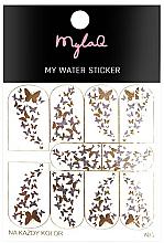 Parfémy, Parfumerie, kosmetika Nálepky na nehty 5 Motýli - MylaQ My Water Sticker