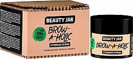 Parfémy, Parfumerie, kosmetika Peeling na obočí - Beauty Jar Brow-A-Holic Eyebrow Scrub